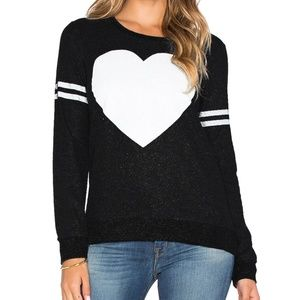Chaser Heart Decal Sweater